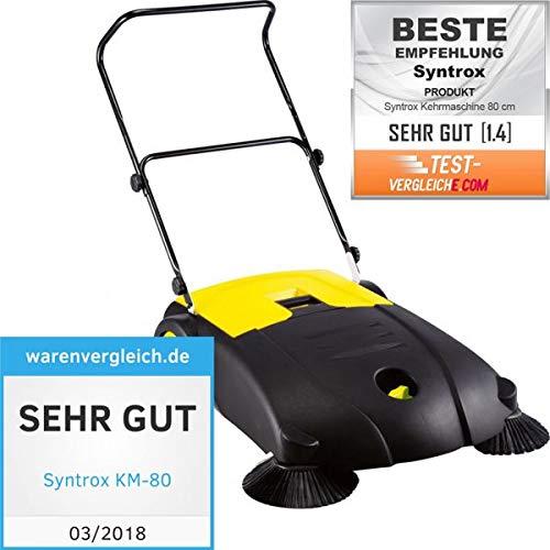 Syntrox Germany Kehrmaschine mit 2Reinigern, 80cm