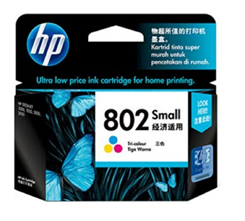 HP 802 Small Color Ink Cartridge CH562ZZ