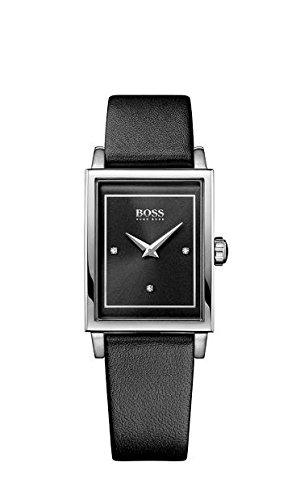 HUGO Boss Damen-reloj analógico de pulsera de cuarzo cuero 1502348