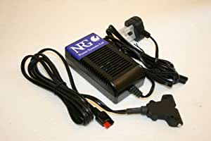 """NRG """"connect and forget"""" Battery charger fits all Powakaddy, Motocaddy and Hillbilly batteries"""