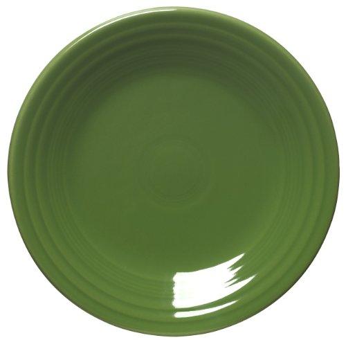 Fiesta 9-Inch Luncheon Plate, Shamrock by Homer Laughlin Fiestaware
