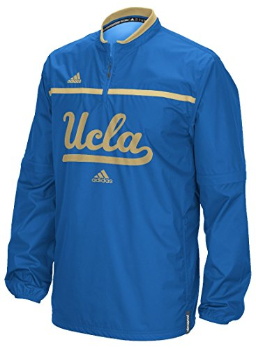 UCLA Bruins Adidas 2015 Sideline 1/4 Zip Climalite Convertible Jacket Giacca