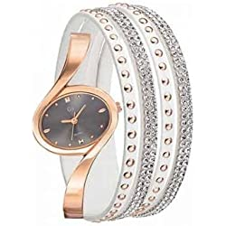 Girl Only-Sweet Dreams Ladies Watch and Bracelet Girl Only-Gray-3cm x 2.3cm