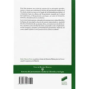 Historia del pensamiento medieval: filosofía y teología