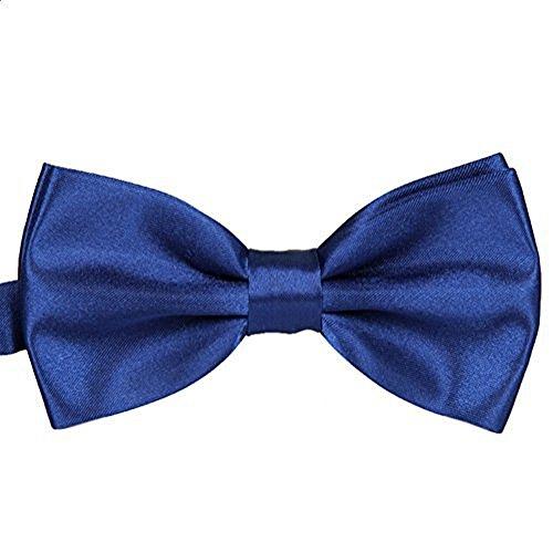 Worsendy Männer Krawatte / Damen Krawatte Verstellbarer Bowknot Niedlich Schleife Haarclips/Haarspangen Haarschmuck Ribbon Haar-Clips Für Mädchen 1 Stück (lila)