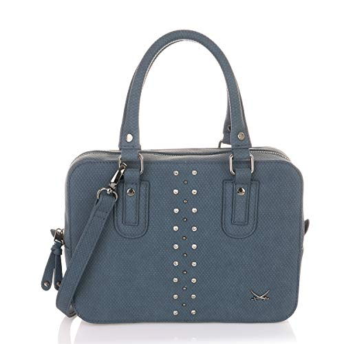 SANSIBAR-Damen Bowling-Bag 27x20x10 003 - Midnight Blue