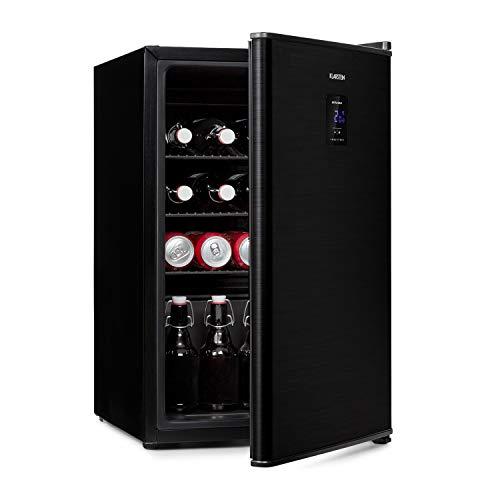 Klarstein Beer Baron Getränkekühler, Volumen: 68 Liter, Energieeffizienzklasse A+, Temperatur: 0-10 °C, Touch-Bedienfeld, 3 verstellbare Gitterböden, schwarz