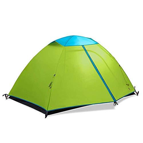 Pop-Up-Zelt Camping Double Layer Rainproof Leichte Kuppelzelt Outdoor Travel Portable Paar Zelt