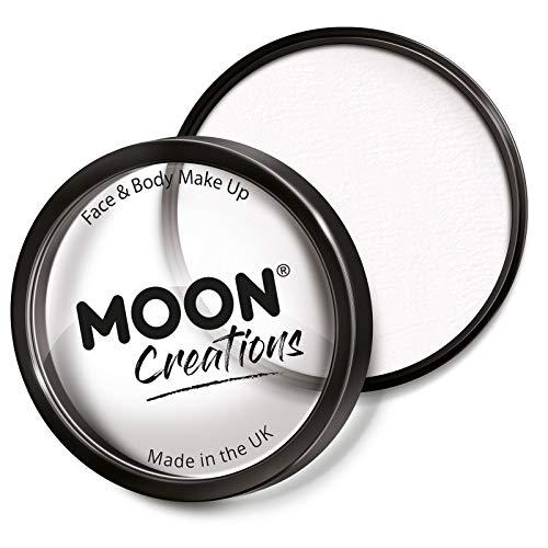 Moon Creations - Pintura Facial Profesional activada por Agua - Blanca