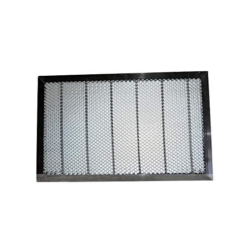 MXBAOHENG CO250W 60W Tube Laser graviermeister Cutter Honeycomb Arbeit Bett Tisch Plattform 6040400mm x 600mm 5.5mm (Gartenarbeit Edger)