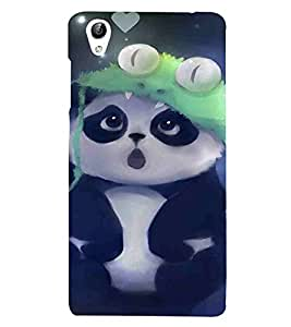 For Vivo Y51 :: Vivo Y51L Cartoon, Black, Cartoon and Animation, Panda, Printed Designer Back Case Cover By CHAPLOOS