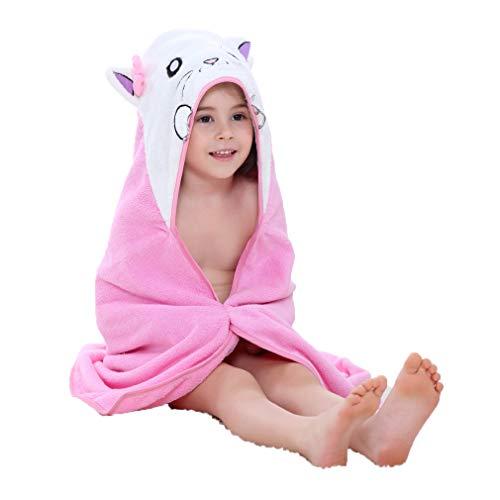 ZMH Niños Capucha baño Toalla natación 1-7 años