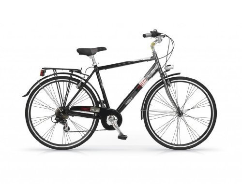 MBM PEOPLE MAN BICYCLE 28 7S TREKKING CITY BIKE H54 BICICLETA CIUDAD HOMBRE NEGRO
