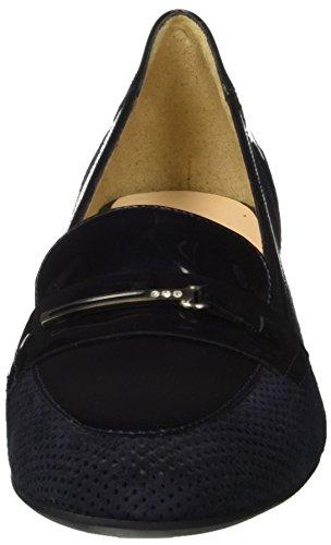 MELLUSO N527, Mocassins (Loafers) Femme Blu (Notte)