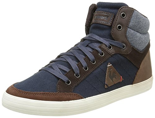 Le Coq Sportif Portalet Mid Craft Hvy B, Sneakers Alti Uomo, Blu (Dress Blue/Mustang), 43 EU