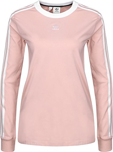 Adidas 3-Stripes T-Shirt Femme, Pink Spirit, FR : S (Taille Fabricant : 36)