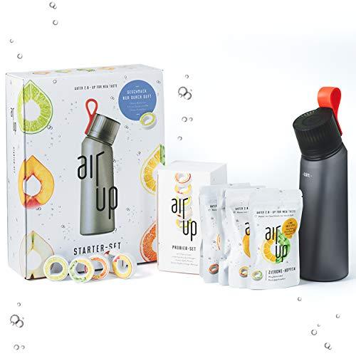 air up® Starter-Set (Trinkflasche BPA frei 650ml + air up® Duft-Pods für 25 Liter Geschmack) -