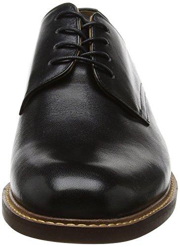 Aldo Galeri, Derby Homme Noir (Black Leather)