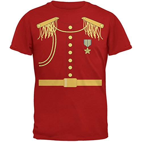 Prince Charming Kostüm rot Erwachsenen T-Shirt-X-Large (Prince Charming Kind Kostüme)