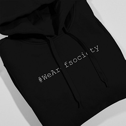 We Are Fsociety Mr Robot Women's Hooded Sweatshirt Black