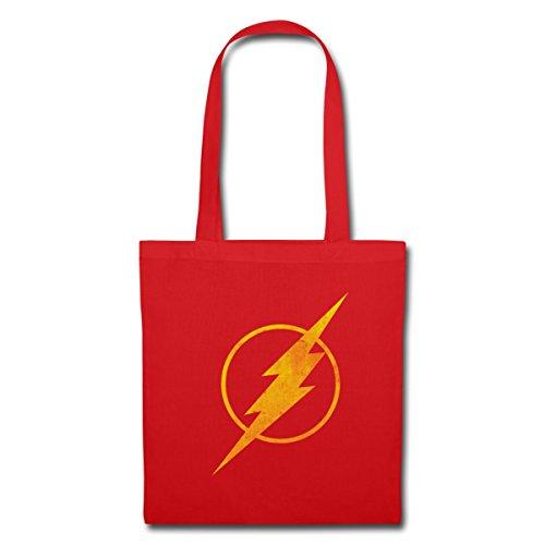 dc-comics-ligue-de-justice-damerique-flash-logo-tote-bag-de-spreadshirtr-rouge