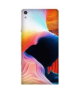 Color Burst Huawei Ascend P6 Case