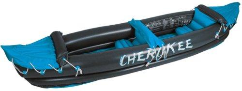 Waimea Cherokee - Kayak hinchable para 2 personas dunkelgrau - blau - weiß Talla:tamaño único