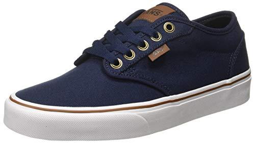 Vans Herren Atwood Canvas Sneaker Blau ((Oz C/Yellow) Dress Blues/White Ve9) 42.5 EU