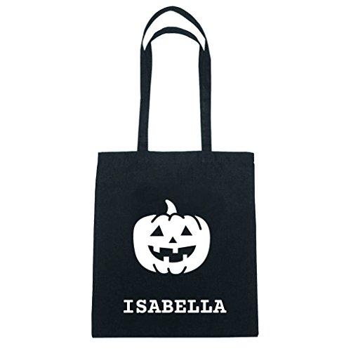 JOllify Baumwolltasche Halloween für ISABELLA - Kürbis