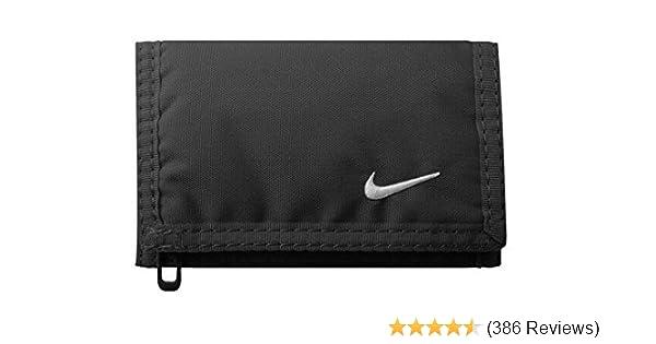 new style 0b017 20630 Nike Unisex s Tri-Fold Wallet, Black, One Size  Amazon.co.uk  Sports    Outdoors