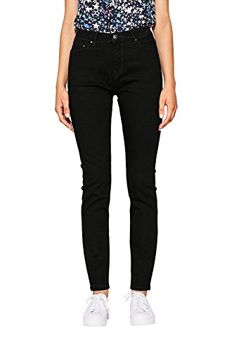 edc by ESPRIT Damen Skinny Jeans 996CC1B909, Black Rinse 910, W29/L32