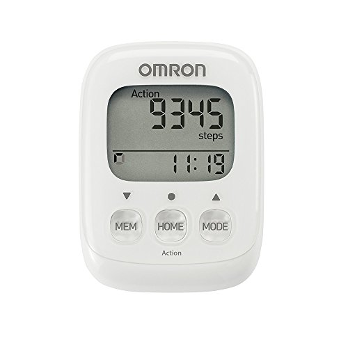 OMRON Healthcare Walking Style IV, Contapassi Unisex, Bianco, Unica