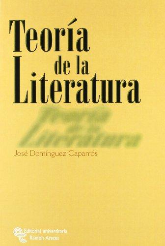 Teoría de La Literatura (Manuales) por José Domínguez Caparrós