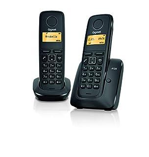 Gigaset A120 Duo Teléfono inalámbrico, Agenda de 50 contactos. (B0082VHSWM) | Amazon price tracker / tracking, Amazon price history charts, Amazon price watches, Amazon price drop alerts