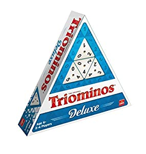 Goliath Games Triominos Original De Luxe, Multicolor (56 fichas Triangulares, 4 Soportes)