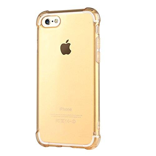 ARTLU® iPhone 6S Hülle iPhone 6 Schutzhülle Case Stoßfeste Transparent Handyhülle Schutzhülle Durchsichtig TPU Crystal Clear Case Backcover Bumper Slimcase A06 A1
