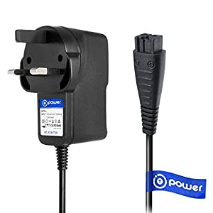 T POWER (5 feet Long Cable for Panasonic WESLV81K7P58 ES-LV Series Arc5 Electric Shaver Wet Dry Electric Blade Razor with Multi-Flex Pivoting Head for Men AC DC Adapter