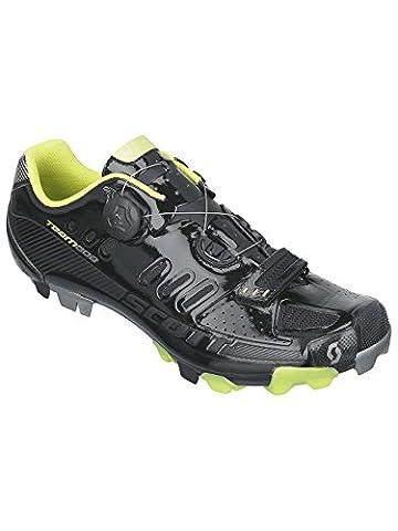 Scott MTB Team Boa Fahrrad Schuhe schwarz/grün 2016: Größe: 45