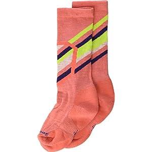 Smartwool Ski Racer Socks Kinder Bright Coral Schuhgröße L | EU 33-36 2019 Socken