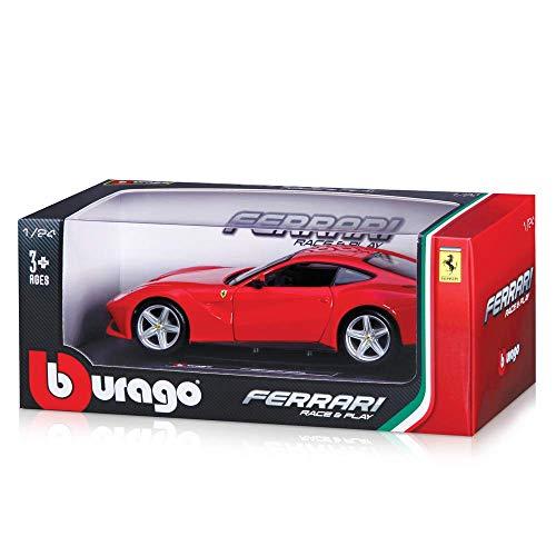 BBurago Maisto France - 26007 - Véhicule miniature - Ferrari F12 Berlinetta - Échelle 1/24 - Couleur aléatoire