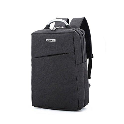E-Star Laptop Mochila Unisex Business Wear-Resistente