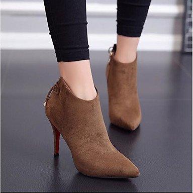 LQXZM Sandales femme chaussons été occasionnels de Pu Talon Black