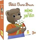 Jeu Petit Ours Brun - Memo du Jardin
