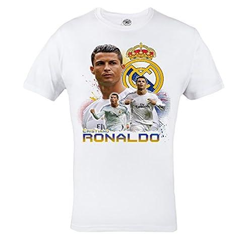 Rule Out T-Shirt Fanswear .Cristiano Ronaldo. Real Madrid FC. Galacticos
