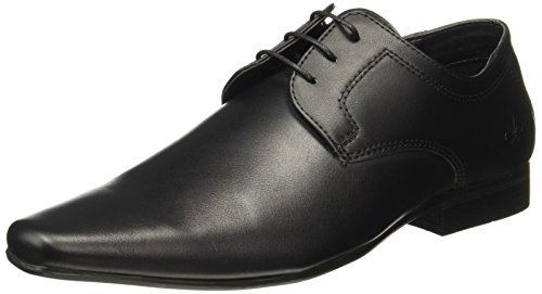 Bond Street by (Red Tape) Men's Black Formal Shoes - 7 UK/India (41 EU)