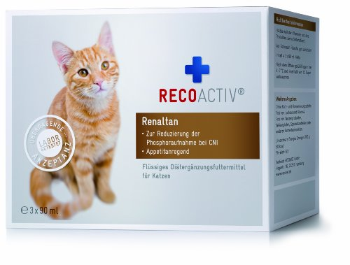 Preisvergleich Produktbild RECOACTIV® Renaltan® Tonicum für Katzen - Kurpackung 3x90ml