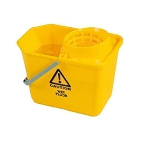Secchio mocio strizza mocio secchio strizzatore 15 litro giallo sm15yl