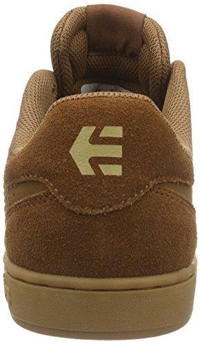 Etnies - FADER LS, Scarpe da skateboard Uomo Marrone (Braun (209 - BROWN/BROWN/GUM))