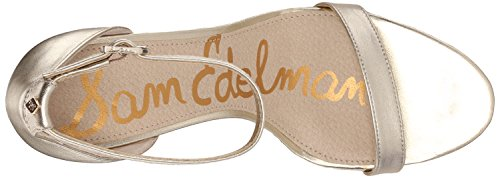 Sam Edelman Patti, Escarpins femme Jute Metallic Leather