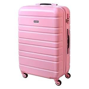 xl hartschalen koffer reise trolley 80 liter rosa 815 b. Black Bedroom Furniture Sets. Home Design Ideas